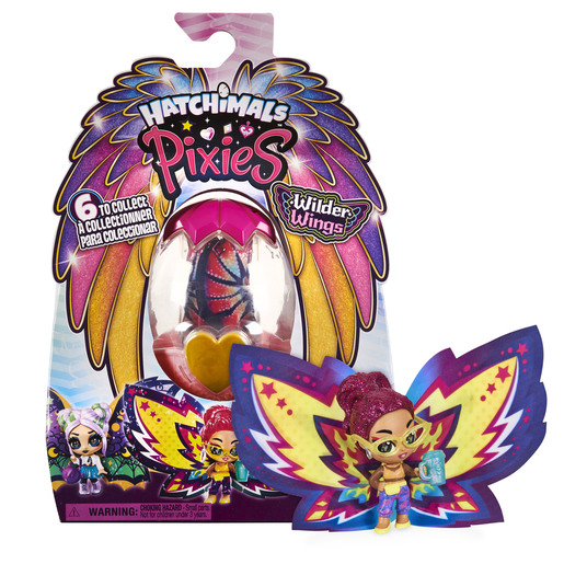 Hatchimals Pixies - Wilder Wings (Styles May Vary)
