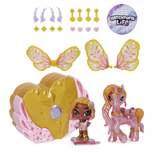 Hatchimals Pixies Riders - Starlight Pixie & Unicorn Glider