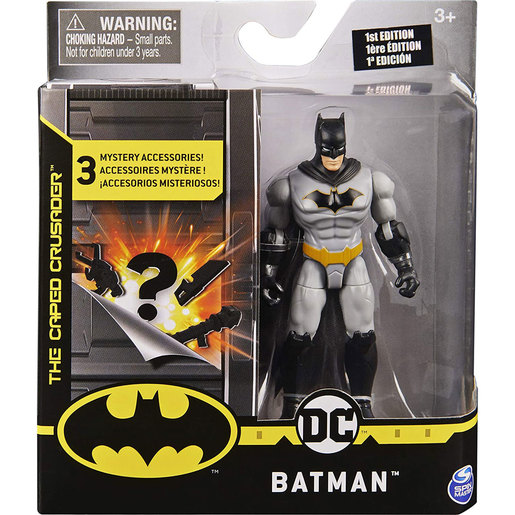 Batman The Caped Crusader 10cm Action Figure  - Rebirth Batman