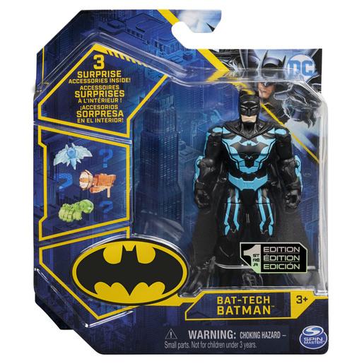 DC Batman 10cm Action Figures   Bat Tech Batman