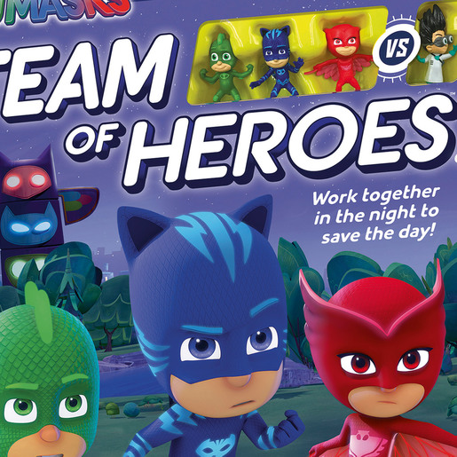 Ravensburger PJ Masks - Team of Heroes Game