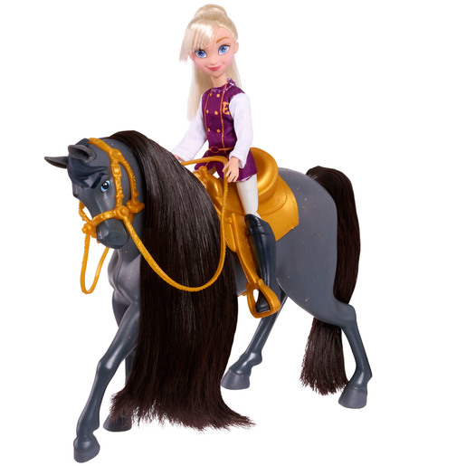 DreamWorks Spirit Doll & Horse - Bebe & Sergeant