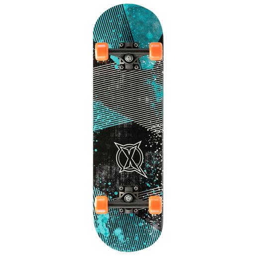 Xootz Skateboard 28 Inch Blue Graphic