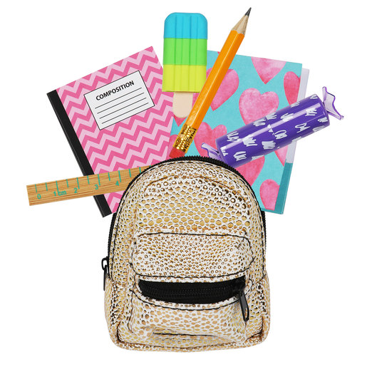 Real Littles: Micro Backpack with 6 Stationery Surprises - Series 2 (Styles Vary)