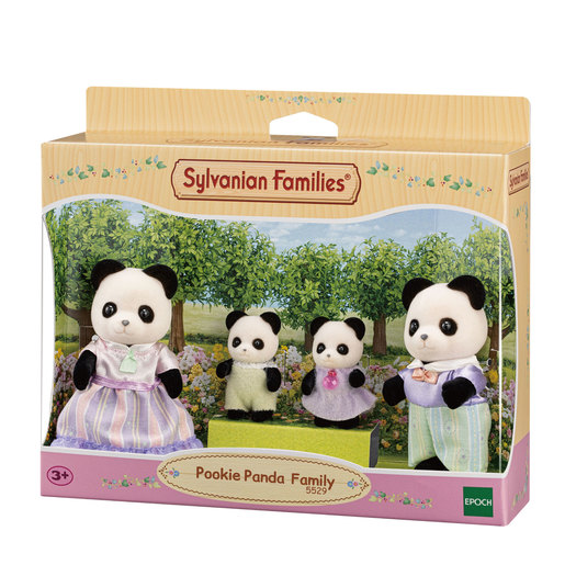 Sylvanian Families: Pookie Panda Family