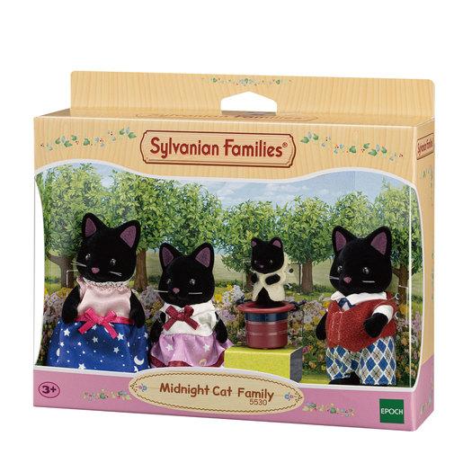 Sylvanian Families: Midnight Cat Family