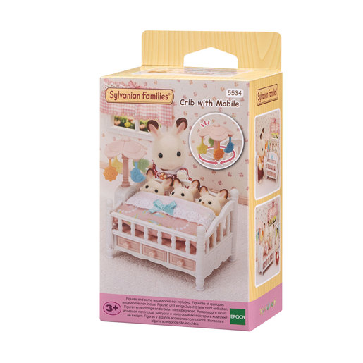 Sylvanian Families: Crib with Mobile