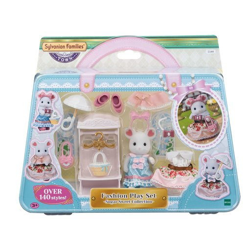 Sylvanian Families: Fashion Play Set - Sugar Sweet Collection