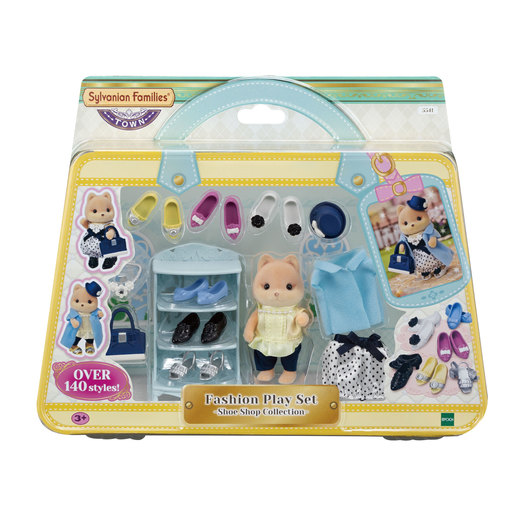 Sylvanian Families: Fashion Play Set - Shoe Shop Collection