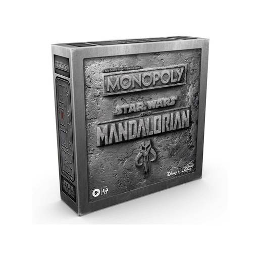 "Monopoly: Star Wars The Mandalorian Edition Board Game, Protect The Child (""Baby Yoda"") From Imperial Enemies"