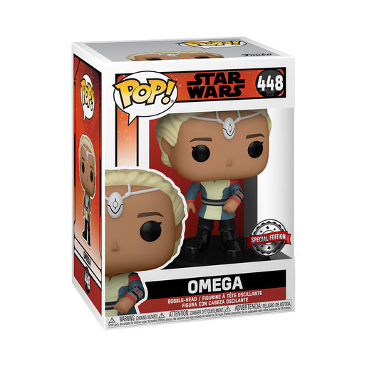 Funko Pop! Star Wars: The Bad Batch   Omega (Special Edition)