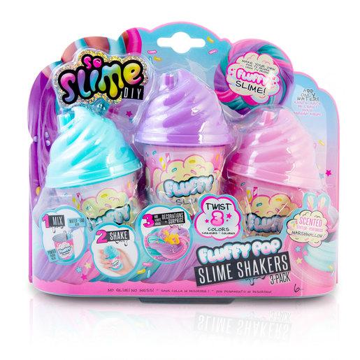 So Slime DIY Fluffypop Slime Shaker 3 pack