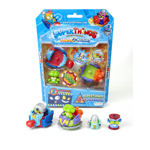 Superthings Power Machines - 4 Pack