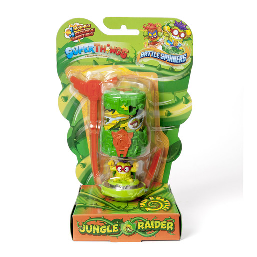 Superthings - Battle Spinners - Jungle Raider
