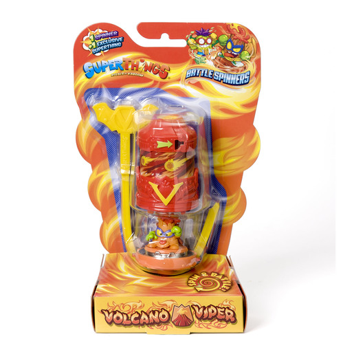 Superthings - Battle Spinners - Volcano Viper