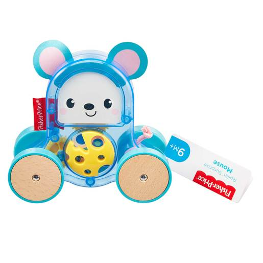 Fisher Price Rollin Surprise Push Along   Mouse