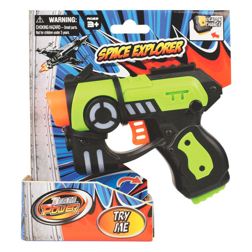 Team Power Space Explorer Blaster (Styles Vary)