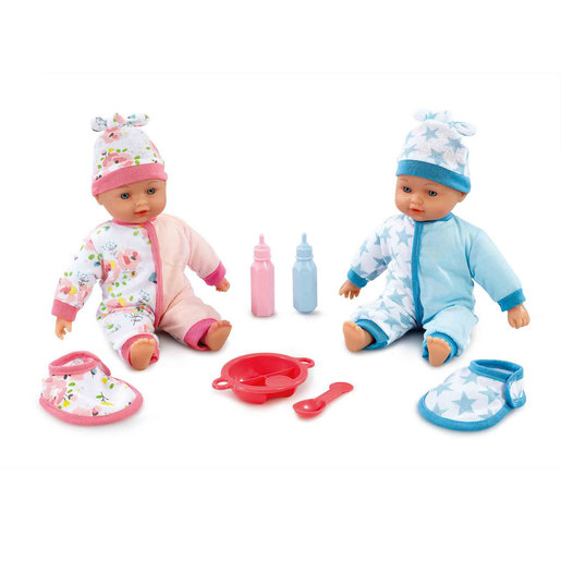 Cupcake Brother and Sister Twin Dolls