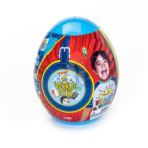 Ryan's World Tour Micro Figure Egg (Styles Vary)