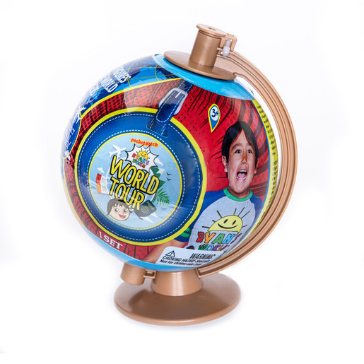 Ryan's World Tour Globe Playset (Styles Vary)