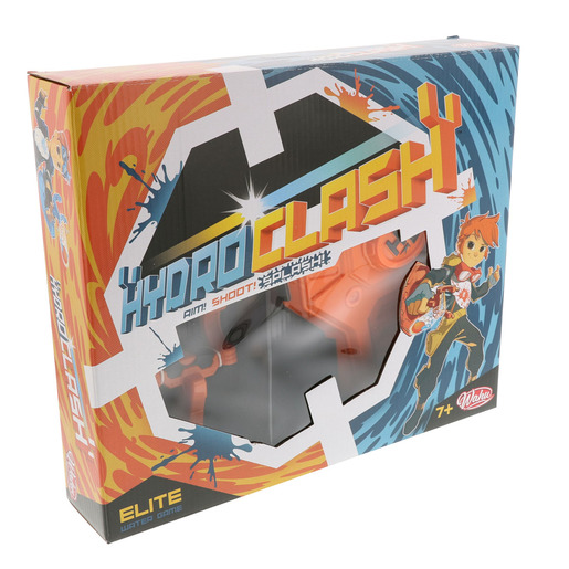 HydroClash Elite Catapult and Target - Orange (Styles Vary)