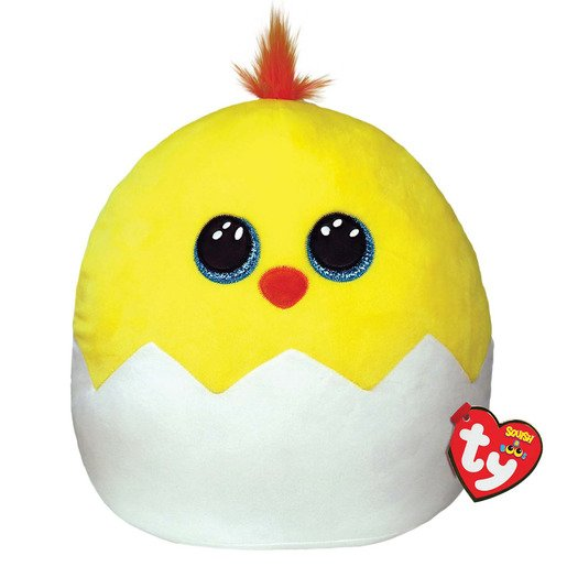 Ty Squish-a-Boos 35cm Soft Toy - Popper Chick