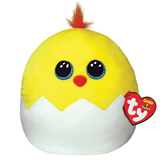 Ty Squish-a-Boos 24cm Soft Toy - Popper Chick