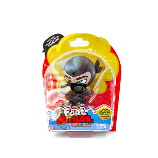 Fart Ninja Figure Series 3 - Sonic Boom