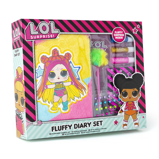 L.O.L Surprise! Fluffy Diary Set