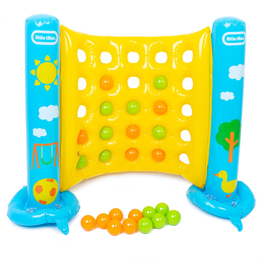 Little Tikes Inflatable 4 In A Row Garden Game