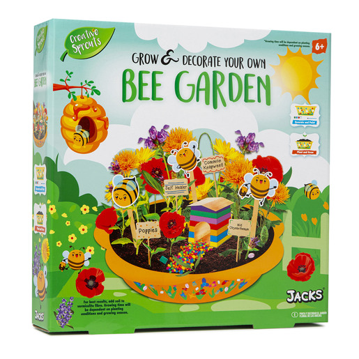 Jacks - Grow & Decorate Bee Flower Garden