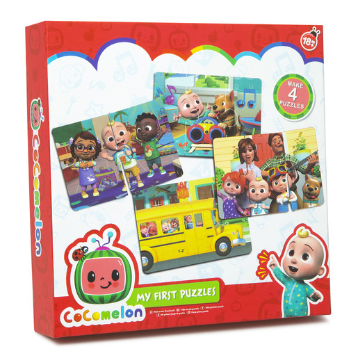 CoComelon My First Puzzles Set 4pk