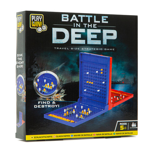 Play & Win Battle In The Deep Strategic Travel Game