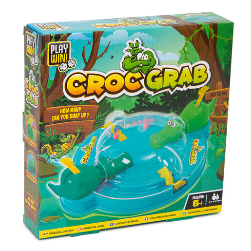 Play & Win Croc Grab Travel Game