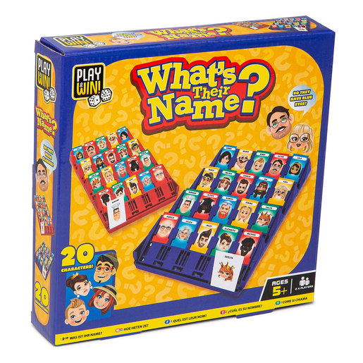 Play & Win Whats Their Name Travel Game