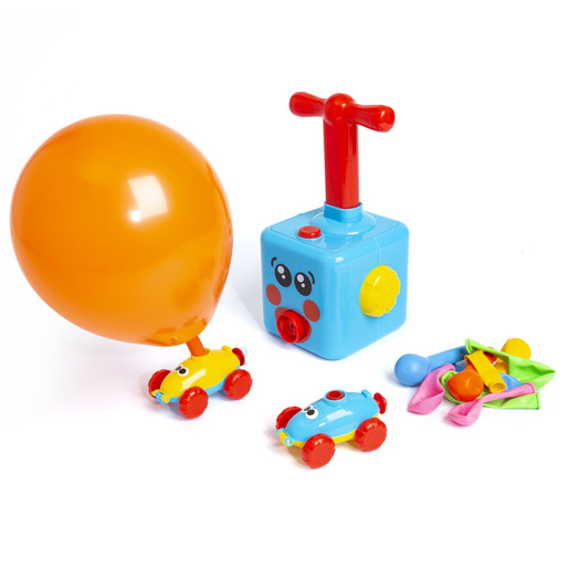 Jacks Whizzy Wheels Balloon Car Pump