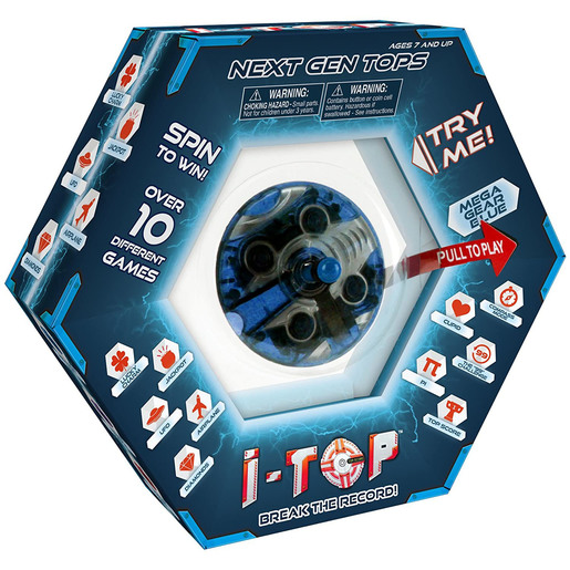 Next Gen I-Top Game - Mega Gear Blue