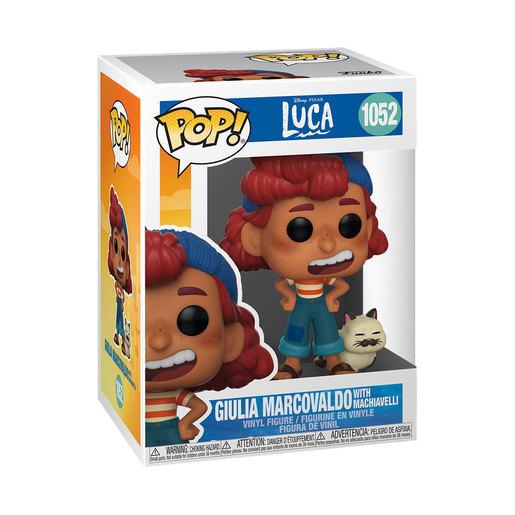 Funko Pop! Disney: Luca - Giulia Marcovaldo With Machiavelli