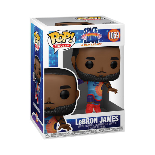 Funko Pop! Movies: Space Jam A New Legacy - LeBron James