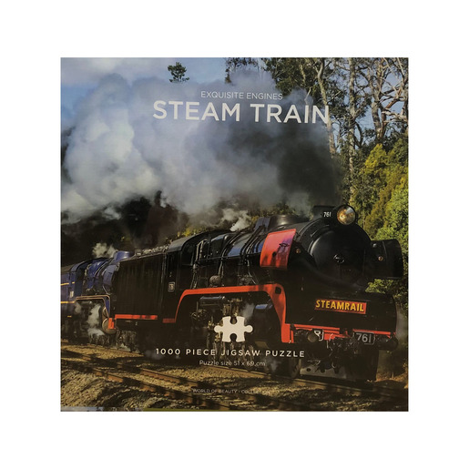 Steam Train Puzzle - 1000 Pieces