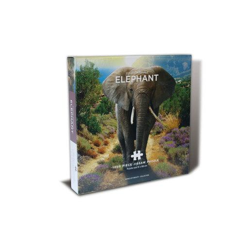Centum Books - Elephant Puzzle 1000 Pieces