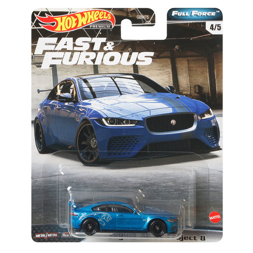 Hot Wheels X Fast and Furious Vehicle - Jaguar XESVP Project 8