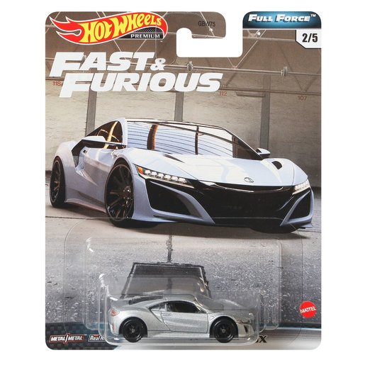 Hot Wheels X Fast and Furious Vehicle - 17 Acura NSX