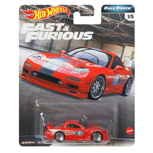 Hot Wheels X Fast and Furious Vehicle - Mazda RX7 FD