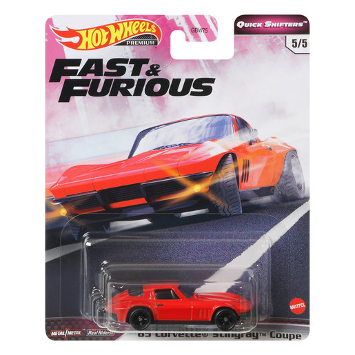 Hot Wheels X Fast and Furious Vehicle - '65 Corvette Stingray