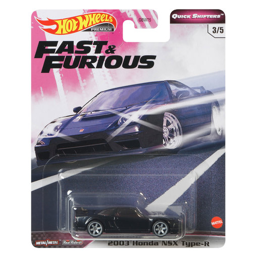 Hot Wheels X Fast and Furious Vehicle - Honda NSX Type R