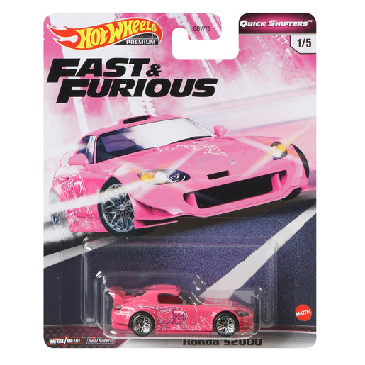 Hot Wheels X Fast and Furious Vehicle - Honda S2000