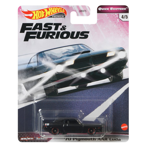 Hot Wheels X Fast and Furious Vehicle - '70 Plym