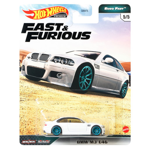 Hot Wheels X Fast and Furious Vehicle - BMW M3 E46 (White)