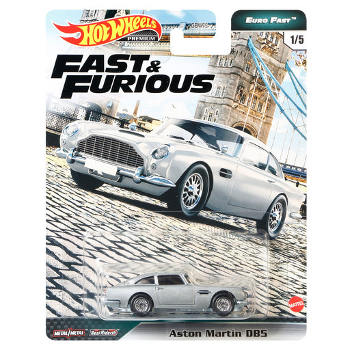 Hot Wheels X Fast and Furious Vehicle - Aston Martin DB5